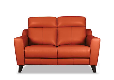 HUGH - Leather 2 Seater with Inbuilt Electric Recliners