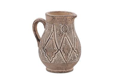 DEWANTI - 25..5cm Tribal Terracotta Jug