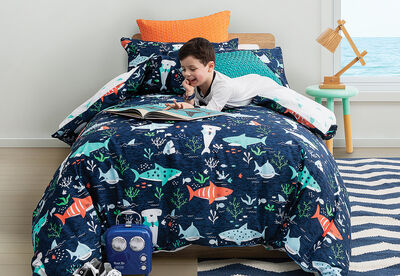 CHOMP CHOMP - Single Bed Quilt Cover Set
