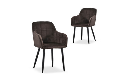 TERRA - Set of 2 Dining Chairs