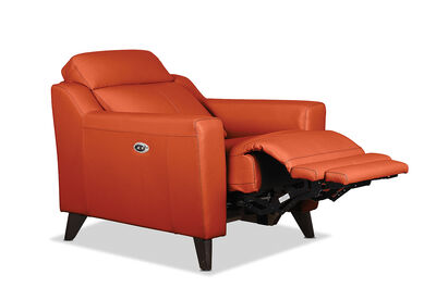 HUGH - Leather Electric Recliner