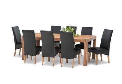 SILVERWOOD MK2 - 9 Piece Dining Suite