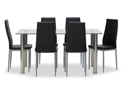 ZIA - 7 Piece Dining Suite