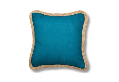 RIVIERA - Jute Edge Cushion 45x45cm