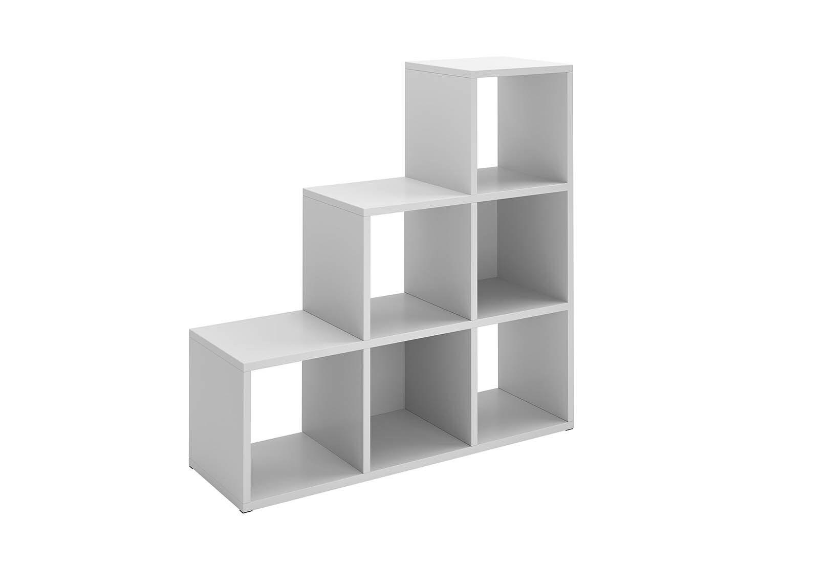 RAYMOND 6 Cube Step Bookcase