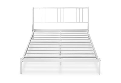 CAREY - White King Bed