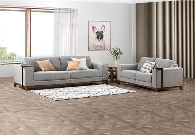 GRANDVUE - Fabric Sofa Pair