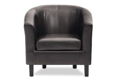 MONTE VISTA - Leather-Look Accent Chair