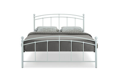 CHARLOTTETOWN - White Double Bed