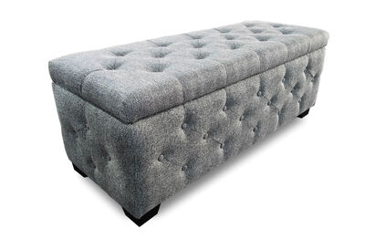 SAMFORD - Upholstered Storage Bench