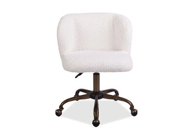 SIOBHAN - White Office Chair
