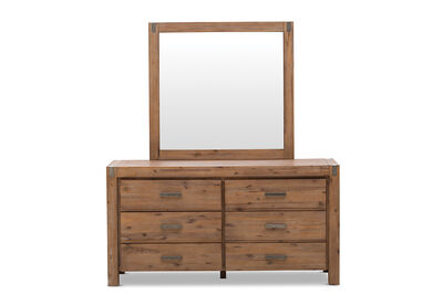 SILVERWOOD - Dresser with Mirror