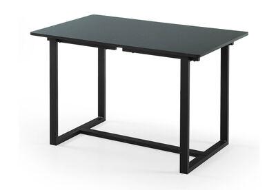 MOLINA - Black/Espresso Dining Table