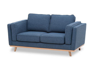 LORAS - Fabric 2 Seater Sofa