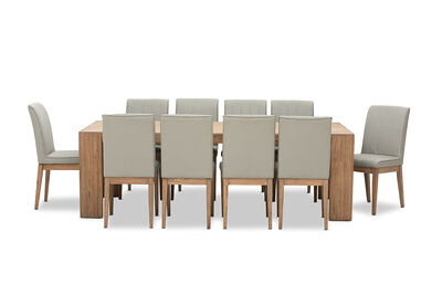 ROMULUS - 11 Piece Dining Suite
