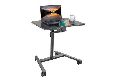 NAXOS - Black Height Adjustable Mobile Desk