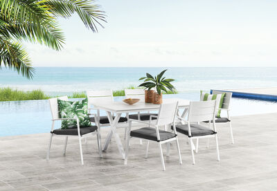 TARNI - 7 Piece Outdoor Dining Setting