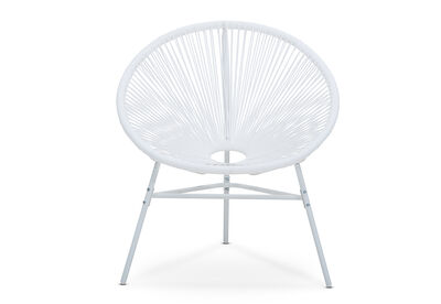JOY - Outdoor Sun Chair with White Frame