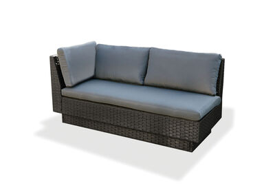 BRENTWOOD - Outdoor Lounge with Left-Hand Facing Arm