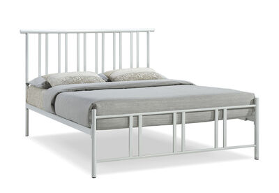 PORTSMOUTH - White Double Bed