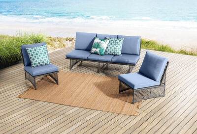 AZALEA - 3 Piece Outdoor Lounge Setting