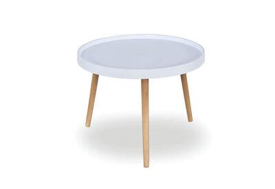 TAMA - White Round Kids Table