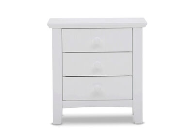 ADDISON - 3 Drawer Bedside Chest
