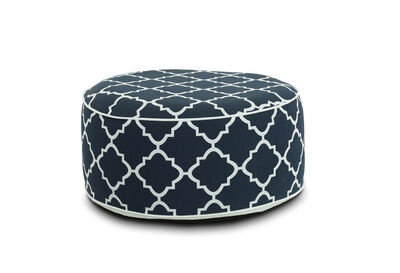 CARL - Navy Blue Inflatable Stool