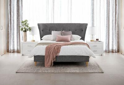 TARA - Queen Fabric Bed