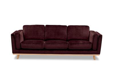 LORAS VELVET - Fabric 3 Seater