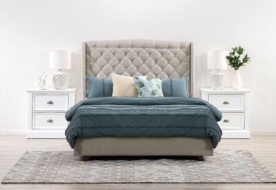 ARAGON - 3 Piece King Bedroom Suite