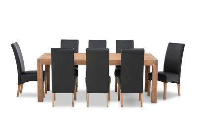 SILVERWOOD MK2 - 9 Piece Dining Suite