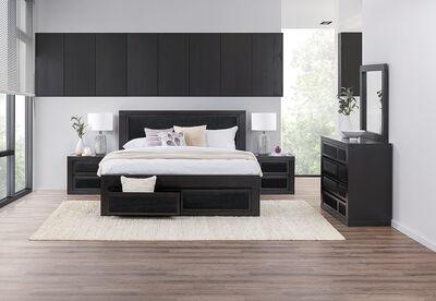 BOUTIQUE MKII - 4 Piece King Dresser Bedroom Suite