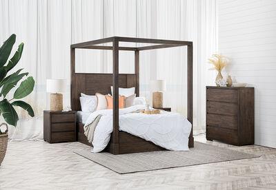 ROSEVILLE - 4 Piece Queen Bedroom Suite