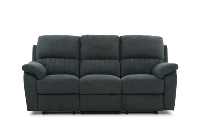 KRAMER - Fabric 3 Seater with 2 inbuilt Recliners