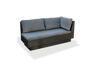 BRENTWOOD - Outdoor Lounge with Right-Hand Facing Arm