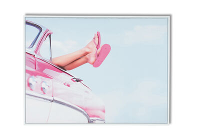 PINK SUMMER - Wall Art 90 x 120cm