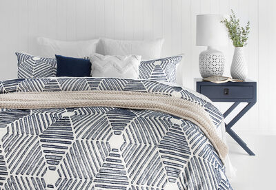 SEAFORTH - King Quilt Cover Set