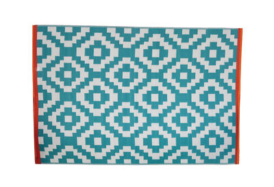 FLORIAN - Green Diamonds Outdoor Rug