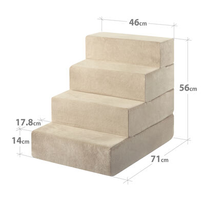 HATTIE - 4 Step Pet Stairs Large