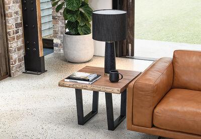 NERO - Lamp Table