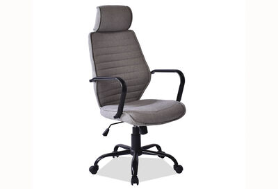 QUENTIN - Light Grey Office Chair