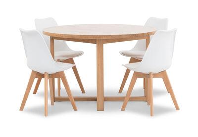 KALABAN - 5 Piece Dining Suite with Otis Dining Chairs