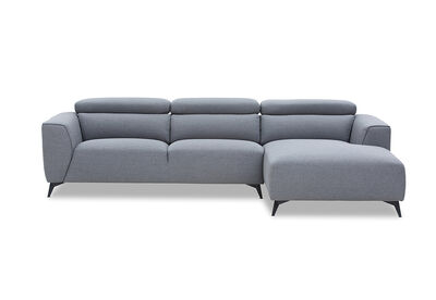 ORWELL - Fabric 3 Seater with Right-Hand Facing Chaise