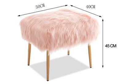 PAULETTE - Pink Stool