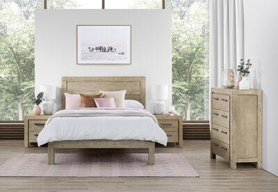 SWINDON - 4 Piece Queen Bedroom Suite