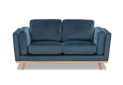 LORAS VELVET - Fabric 2 Seater