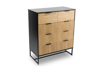 CLAUDE - 5 Drawer Tall Chest