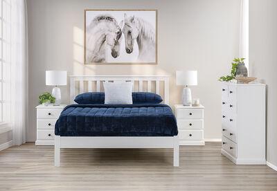 ROSE BAY - 4 Piece Queen Bed Suite
