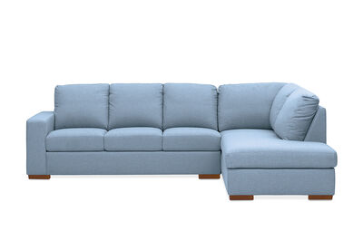 NIXON - Fabric 4 Seater Sofa with Right-Hand Facing Chaise